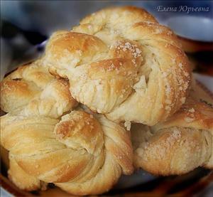 Фото рецепта «Витые булочки»