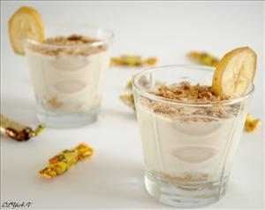 банановый десерт рецепт с кефиром #10