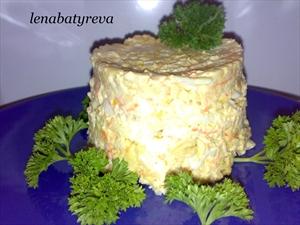 смотреть рецепты салатов из крабовых палочек