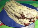 Пошаговое фото рецепта «Торт Дрова под снегом»