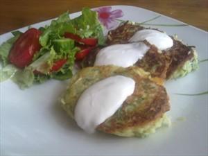 простой рецепт кабачковые оладьи #17