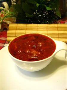 Фото рецепта «Томатный соус с вешенкой»